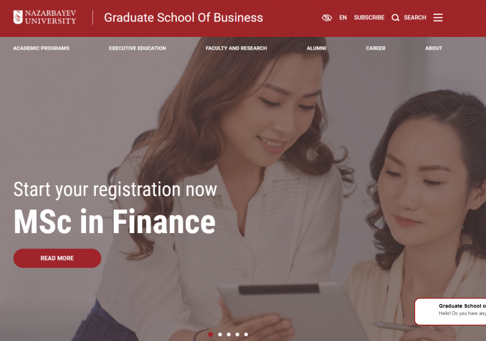 Graduate School Of Business