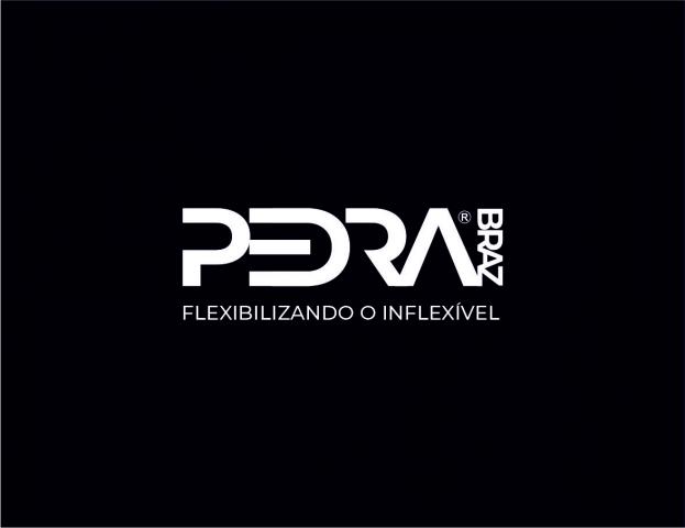 Логотип для сайта по продаже гибкого камня - PEDRA BRAZ Бразилия