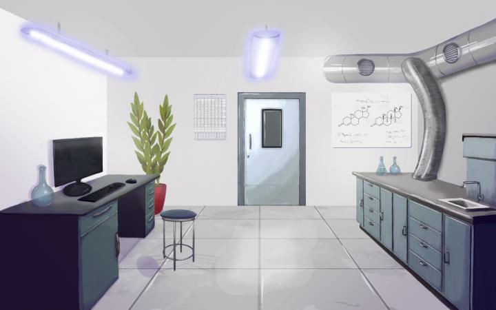 Интерьер лаборатории