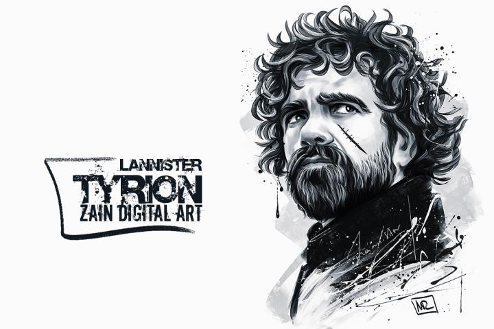 Tyrion Lannister  (Zain Digital Art)