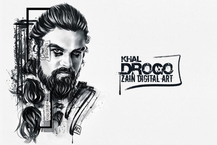 Khal Drogo (Zain Digital Art)