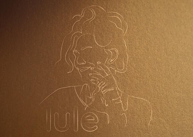 Линейный логотип lule